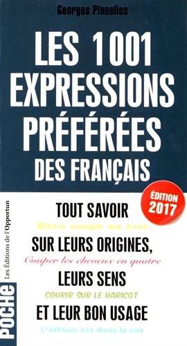 1001 expressions prfres des Franais - 2017
