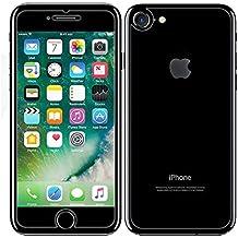 iPhone 7parte delantera y trasera Protector de pantalla, NXET® Delantera + trasera [9H Dureza 0,26mm 2.5d] Premium ultra-clear/sin burbujas de cristal templado Antiarañazos para Apple Iphone 7