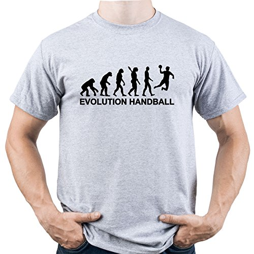 5bc4a4afdd3 Handball Evolution Shirt Handball Tshirt Handball Player Tee Handball  Player Gift Homme T-Shirt Gris M