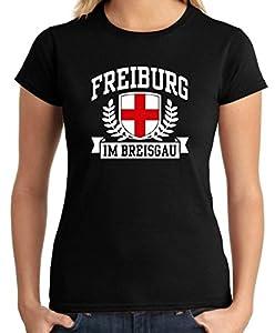 T-Shirtshock - T-shirt Frauen TSTEM0168 freiburg im breisgau