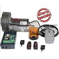 Kit motor Para persiana estor 170kg con freno + fotoc.+ Lamp +.Telec.+ blindino