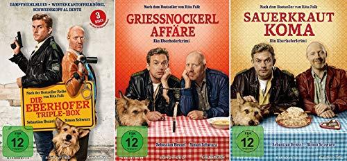 Eberhofer - 5 Filme Set ( Triple Box + Grießnockerlaffäre + Sauerkrautkoma) - Deutsche Originalware [5 DVDs]