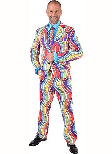 70er 80er Jahre Schlagerparty Musikeranzug XS bis XXL (L) (Man With No Name Kostüm)