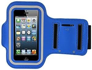 Lapinette - Etui Brassard Sport Sony Xperia M4 Aqua Bleu