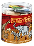 Moses 26806 - Stempelbox Wilde Tiere