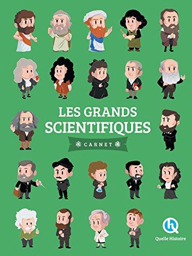 Les grands scientifiques - Carnet par Clémentine V. Baron