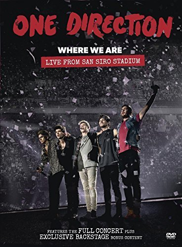 Where We Are: Live From San Siro Stadium by One Direction (One Direction Live-dvd)