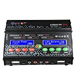 HTRC H150 AC DC DUO 300 W 12Ax2 Dual Port Caricabatterie bilanciamento ad alta potenza RC per Lilon LiPo LiFe LiHV Nimh Nicd Batteria