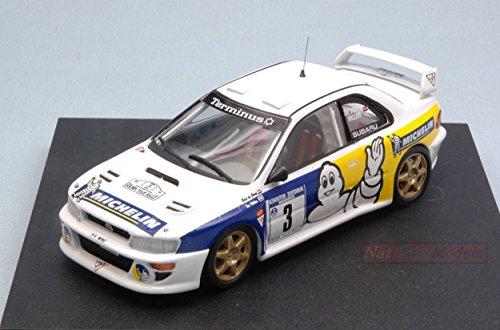 TROFEU TF1131 SUBARU IMPREZA WRC N.3 TULIP RALLY 1998 B.DE JONG-T.HILLEN 1:43