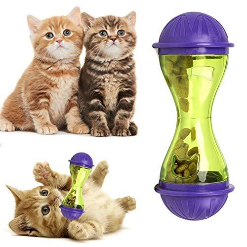 Teaio Katzenspielzeug Futterspender Knochen Form Kreative Spielzeug für Haustier Hund Katze Leakage Spender -