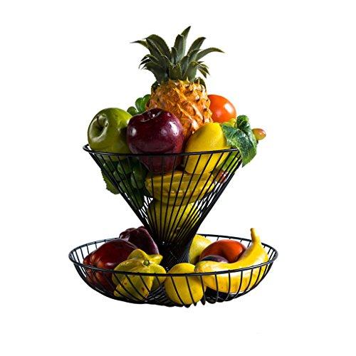 Corbeille à fruits , Salon De Cuisine Créative Et Moderne Ensemble De Drainage De Fruits / Assiette De Fruits Panier À Fruits / Swing Acier Inoxydable Plaque De Bonbons