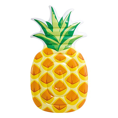 Intex 58761 - Materassino Ananas, Multicolore, 216 x 124 cm