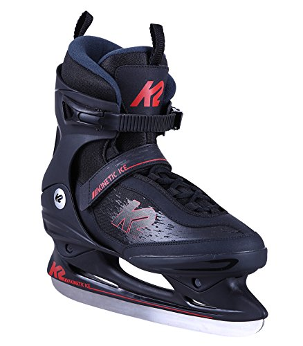 K2 Herren Schlittschuh Kinetic Ice M - Schwarz-Rot - EU: 42.5 (US: 9.5 - UK: 8.5) - 25C0150.1.1.095