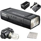 Godox AD200TTL 2,4G HSS 1/8000s Pocket Flash Light double tête 200WS avec 2900mAh batterie au lithium Flash stroboscopique
