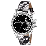 #3: Mikado Stylish Sophia Black Analog Watch for Girls and Women Watch - for Girls