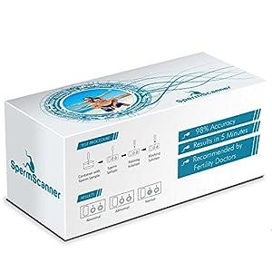 Sperm Scanner Fruchtbarkeitstest-Set für Männer, 99% Genauigkeit, für ZuhauseTesten Sie Ihre Fruchtbarkeit nach Vasektomie oder Empfängnis.