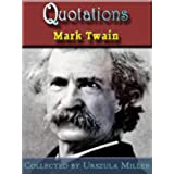 Quotations by Mark Twain (English Edition)