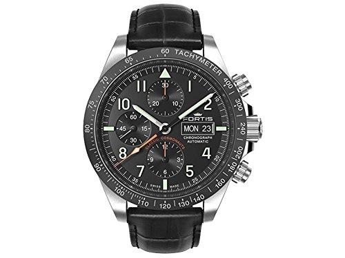 Fortis Orologio per Uomini Classic Cosmonauts Cronografo Ceramic p.m. Automatico 401.26.11 L 01