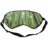 Eye Mask Eyeshade Green Forest Sleeping Mask Blindfold Eyepatch Adjustable Head Strap preisvergleich bei billige-tabletten.eu