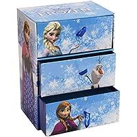 Cool Create Fun Tiles Frozen Deluxe Jewellery Box - 4 C Gemme Gioielli