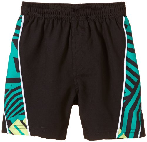 Puma Jungen Badeshorts Boys Sportive Beach, Black, 152, 511051 01 (Puma Shorts Piping)