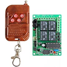 RF 4 Channels Wireless Relay Remote Control Module