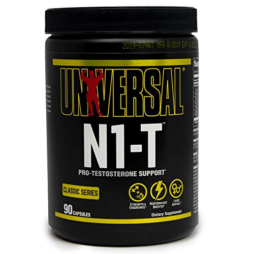 Universal Nutrition N1-T Dietary Supplement Natural Hormone Enhancer - 90 Capsules