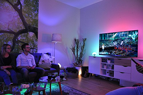 Philips Hue LED Lampe E27 Starter Set inklusive Bridge, 2. Generation, 3-er Set, dimmbar, 16 Mio Farben, app-gesteuert - 9