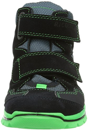 Ricosta Bodin Unisex-Kinder Hohe Sneakers Blau (see/neongrün 178)