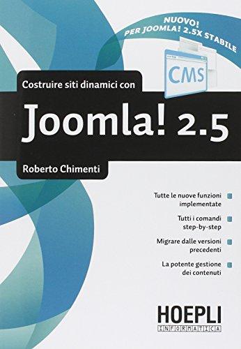 Costruire siti dinamici con Joomla 2.5