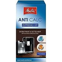 Melitta Kit d'Entretien, Pour Machines à Café Automatiques, 4 Détartrants en Poudre (4 x 40 g), 4 Pastilles Nettoyantes (4 x 1,8 g)