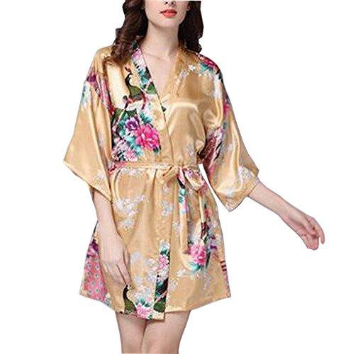 Chemise de nuit Short Nightdress Women's Sleepwear Soft And Comfortable multicolore 08