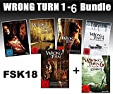 Wrong Turn 1-6 Bundle, Set, 1,2,3,4,5,6 - Alle Teile I-VI FSK18