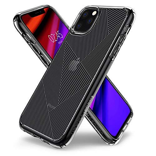 CYRILL Ciel by [Basic Prism] Kompatibel mit iPhone 11 Pro Hülle Transparent (5,8 Zoll) weichem TPU mit hart PC rückseite iPhone 11 Pro Case - durchsichtig Clear iPhone 11 Pro Handyhülle (077CS27267) -