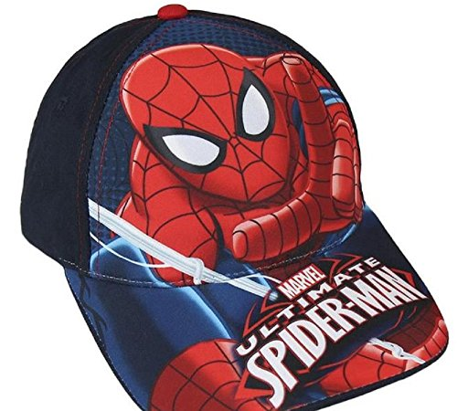 Baseball Cap Marvel Spiderman blau Gr. 53
