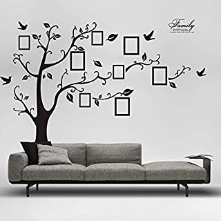 Wall Sticker,Harpily 180 * 250Cm 3D DIY Family Photo Tree PVC Wall Decals Adhesive Wall Stickers Mural Art Home Decor