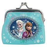 Elsa Anna Disney Frozen la reine des neiges petit porte-monnaie avec fermoir en fer