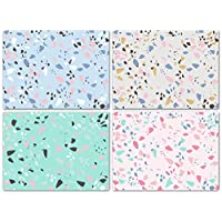 Blank Cards with Envelopes - 48 Terrazzo Blank Note Cards with Envelopes - Assorted Cards for All Occasions! Blank Notecards and Envelopes Stationary Set for Personalized Greeting Cards