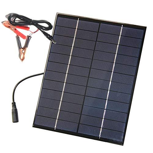 JAYLONG 5,2 W Tragbares Solar Panel, 12V Sicherheits-Solarladegeräte, 8,3 * 6.5 In Geeignet Für Dächer, Outdoor Und Autos - Portable-rv-generator