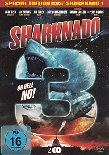 Sharknado 3 Oh Hell No! - Special Edition inkl. Sharknado 1 - 2DVD uncut