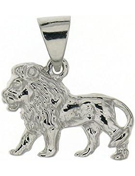 Derby Anhänger Löwe massiv echt Silber Sterling-Silber 925 - 23762