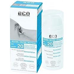 eco cosmetics - Lozione solare SPF 20 neutra, 100 g