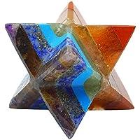HarmonizeMultistone Merkaba Reiki Healing Kristall Spiritual 7 Chakra Balancing heilige Energie Geschenk preisvergleich bei billige-tabletten.eu