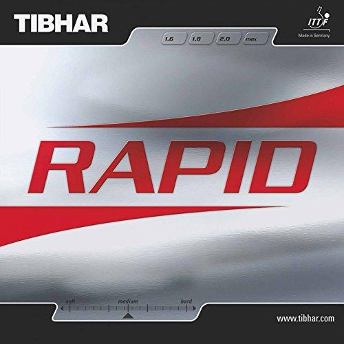 Tibhar Belag Rapid, 2,0 mm, Rot
