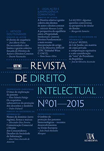 Revista de Direito Intelectual n.º 1 - 2015 (Portuguese Edition)