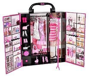 Mattel Barbie X5357 - Puppe Fashionistas Modekoffer