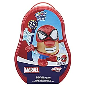 Potato Head - Mr Potato Maletín Spider-Man (Hasbro B9368EU4)
