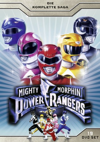 Mighty Morphin Power Rangers - Die komplette Saga [19 DVDs]