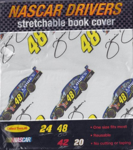 nascar-drivers-stretchable-book-cover-dale-jr-8-by-nascar