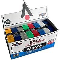 Karakal - Grip para raqueta (PU) verde verde Talla:4 x Grips